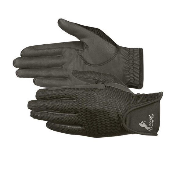 Horze - PU SUEDE MESH GLOVES 2 FARVER