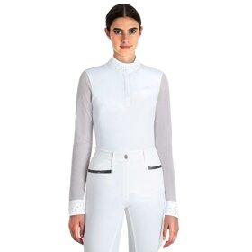 Equiline - Stævne polo t-shirt langærmet