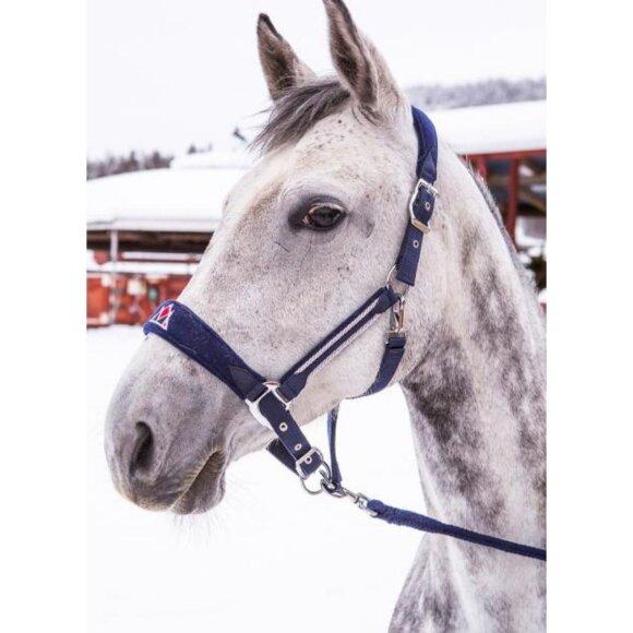 Mountain Horse - Fancy nylon grime m. træktov