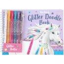 Miss Melody - Glitter doodle design bog
