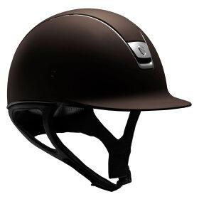 Samshield - Shadowmatt brun - titanium trim